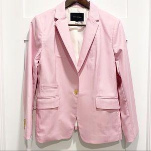 BANANA REPUBLIC Pink Single Button Blazer 12P
